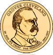 Cleveland (Second Term) Presidential $1 Coin