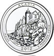 Acadia Silver Uncirculated Coin