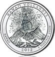 Hawaii Volcanoes Silver Uncirculated Coin