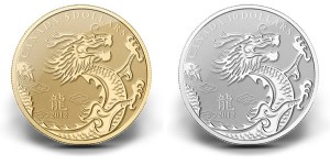 Royal Canadian Mint's Year of the Dragon Gold and Silver Coins (Royal Canadian Mint images)