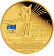 2012 Australian Olympic Team Gold Coin
