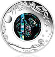 2012 Opal Series Koala Coin