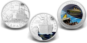 Titanic Royal Canadian Mint Commemorative Coins (Royal Canadian Mint images)