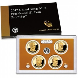 2012 United States Mint Presidential $1 Coin Proof Set (US Mint image)