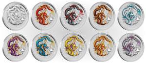 2012 Australian Coins World Mint Coins