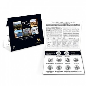 America the Beautiful Quarters Uncirculated Coin Set (US Mint image)