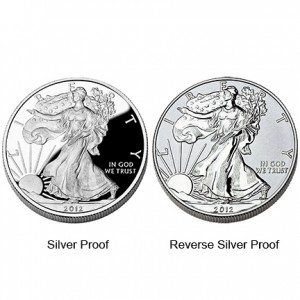 2012 American Eagle San Francisco Two-Coin Silver Proof Set Coins (US Mint image)