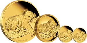 2012 Australian Koala Gold Proof Coins