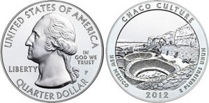 2012 Chaco Culture Silver Uncirculated Coin