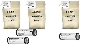 Hawaii Volcanoes Quarter Bags and Rolls