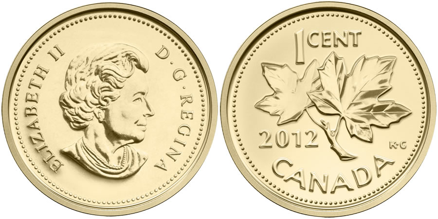 2012 Farewell To The Penny 1 25 Oz Gold Coin Available