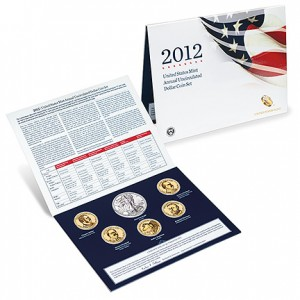 2012 United States Mint Annual Uncirculated Dollar Coin Set (US Mint image)