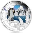 2012 Emperor Penguin Silver Proof Coin