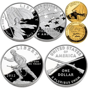 2012 US Mint Commemorative Coins
