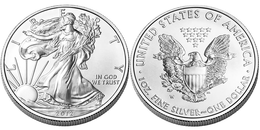 American Eagle Silver Uncirculated Coin (US Mint images)