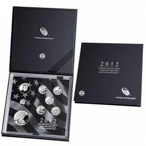 2012 United States Mint Limited Edition Silver Proof Set (US Mint image)