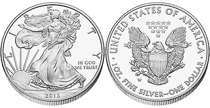 2013 American Eagle Silver Proof Coin (US Mint images)