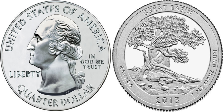 2013 Great Basin America the Beautiful Quarter