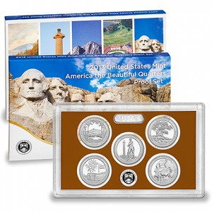 2013 United States Mint America the Beautiful Quarters Proof Set™ (US Mint image)