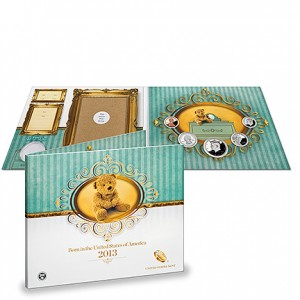US Mint 2013 Birth Set