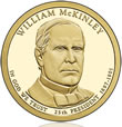 William McKinley Presidential $1 Coin