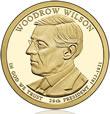 Woodrow Wilson Presidential $1 Coin