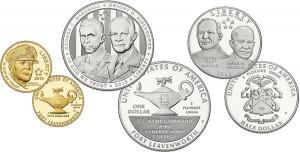 2013 5-Star Generals Commemorative Coins