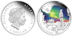 2013 Aurora Australis 1 oz Silver Proof Coin