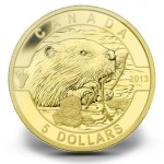 2013 Beaver Fine Gold Coin (Royal Canadian Mint image)