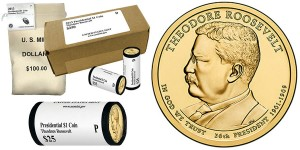 Theodore-Roosevelt-Presidential-1-Coin-Rolls-Bags-and-Boxes