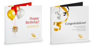 2013 Happy Birthday and Congratulations Set (US Mint images)
