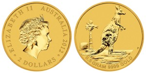 2013 Mini Roo Gold Coin (Perth Mint image)