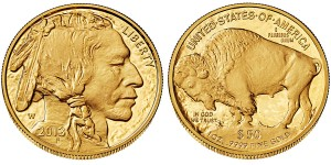 2013 American Buffalo Gold Proof Coin (US Mint images)