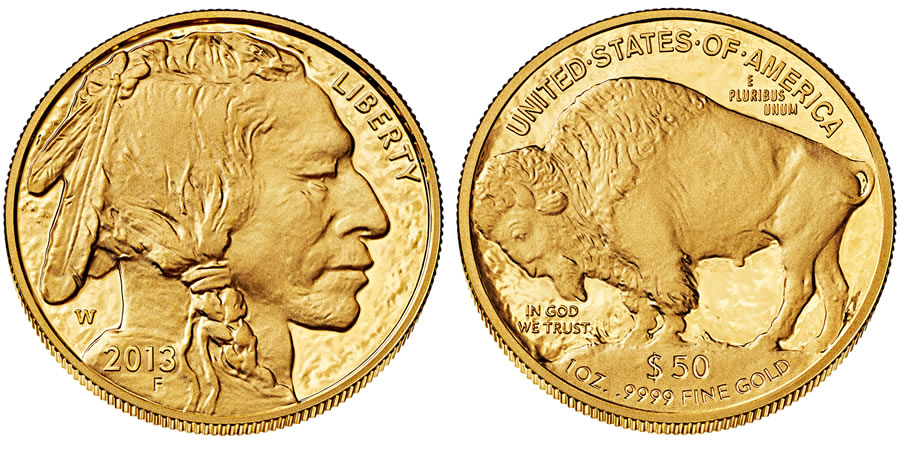 2013 American Buffalo Gold Proof Coin Released World