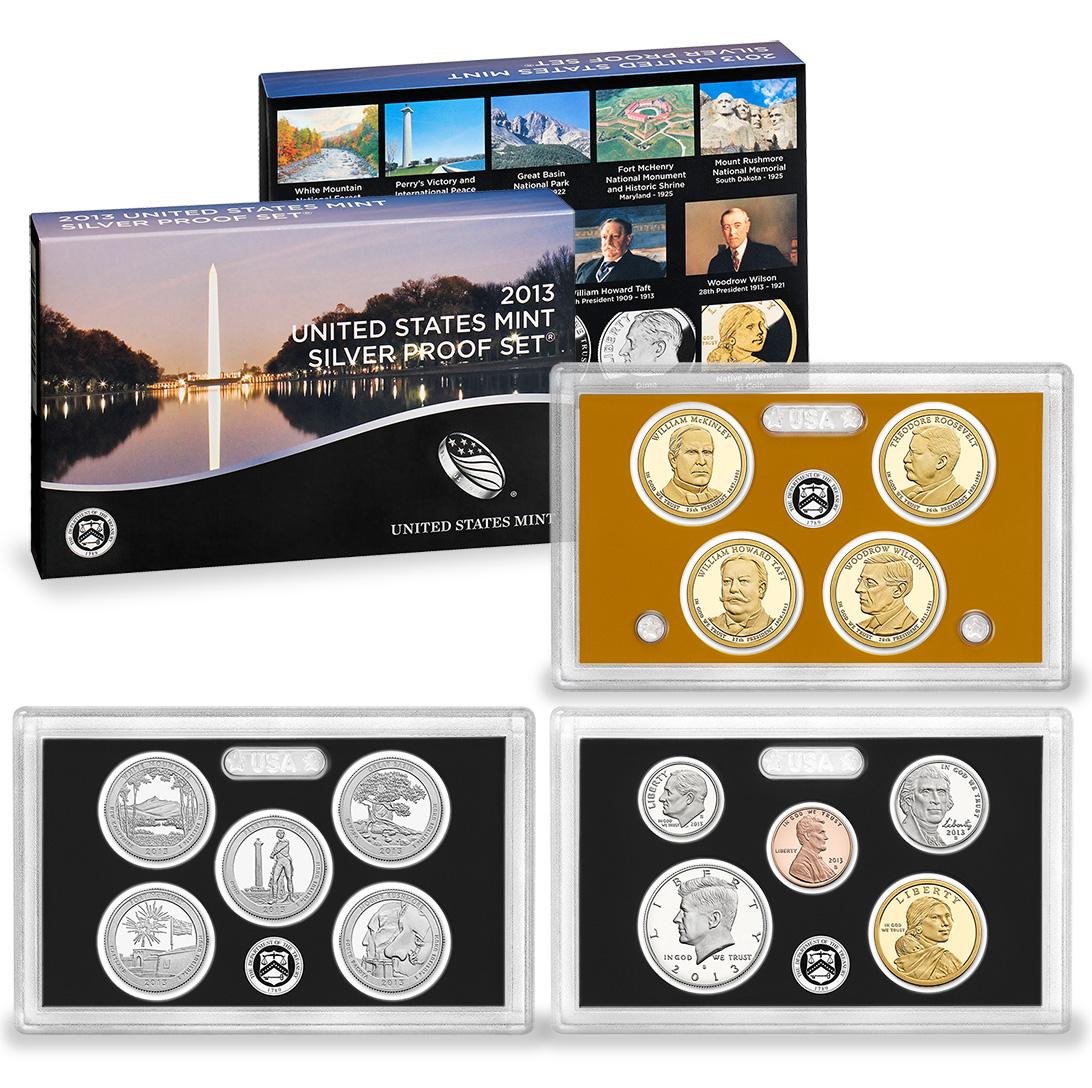 3 Silver Quarter proof sets