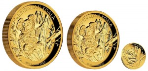 2013 Australian Koala Gold Proof Coins
