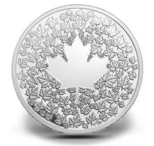 2013 Maple Leaf Impression Silver Proof Coin (Royal Canadian Mint image)