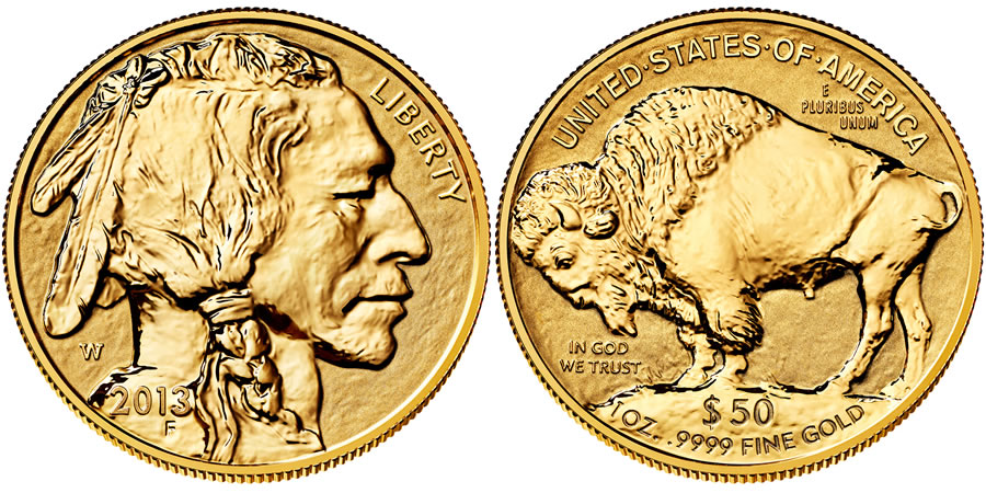 2017 American Buffalo One Ounce Gold Reverse Proof Coin Us Mint Images
