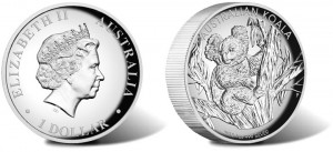 2013 Australian Koala Silver Proof High Relief Coin