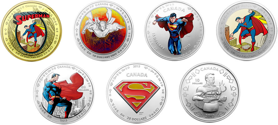 75th anniversary of superman commemorative coins world mint coins