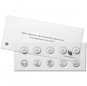 2013 America the Beautiful Quarters Circulating Coin Set™ (US Mint image)