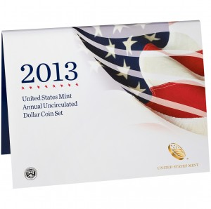 2013 United States Mint Annual Uncirculated Dollar Coin Set (US Mint image)