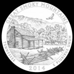 2014-Great-Smoky-Mountains-National-Park-Quarter-and-Coin-Design
