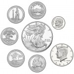 2013 United States Mint Limited Edition Silver Proof Set™ Obverses  (US Mint image)