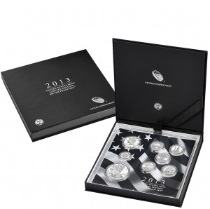 2013 United States Mint Limited Edition Silver Proof Set™ (US Mint image)