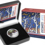 2014 $1 Sydney Holographic Coin Packaging (Royal Australian Mint image)