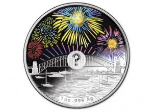 2014 $1 Sydney Holographic Coin (Royal Australian Mint image)