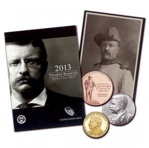 Theodore Roosevelt Coin and Chronicles Set (US Mint image)