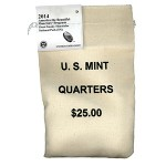 2014 Great Smoky Mountains National Park Quarter 100-Coin Bag (US Mint image)