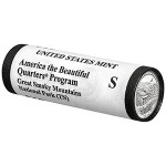 2014 Great Smoky Mountains National Park Quarter S Roll (US Mint image)